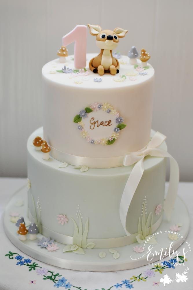 Grace's 1st Birthday Cake